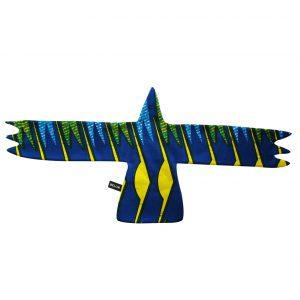 Doudou plat Aigle bleu hawaïen Ye'Kuana