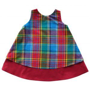 Robe fille en madras antillais Matadi